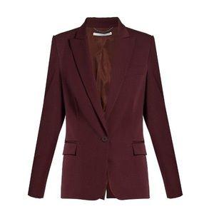 Stella McCartney Wool Peak Lapel Blazer